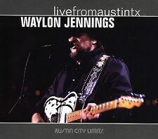 Live from Austin TX, 1989 by Waylon Jennings (CD, Feb-2006, New West (Record...