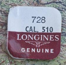 Vintage Longines 510 watch balance staff NOS Swiss part Longines part 728