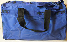 Puma OLD SCHOOL Blue Sport Gym Travel fitness camping hiking backpack Duffle Bag