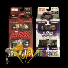 MARVEL Minimates JESSICA JONES & DAREDEVIL Box Set Lot NETFLIX Sealed Series 1!
