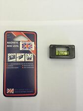 Magnetic Mini Level / Ideal For Use On Steel Brackets/steel electrical sockets
