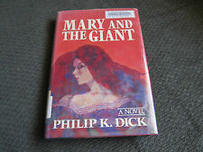 mary and the giant philip k. dick HC HB w/dj x library '87 1st ed sci-fi blade !