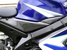 05 06 2005 2006 SUZUKI GSXR 1000 CARBON FIBER LOWER TANK PANELS