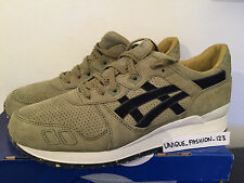 ASICS GEL LYTE III 3 FOOTPATROL US 11 UK 10 44 25TH ANNIVERSARY OLIVE GREEN FP