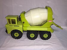 1970's Vintage Classic Euclid Green Mighty Tonka Pressed Steel Cement Mixer