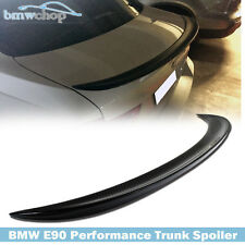 CARBON FIBER BMW E90 SALOON  PERFORMANCE P-TYPE REAR TRUNK BOOT SPOILER WING
