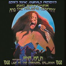 Janis Joplin - Carousel Ballroom 1968 2x 180g vinyl LP NEW/SEALED Cheap Thrills