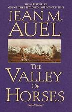BOOK:Earth's Children: The Valley of Horses Bk. 2 by Jean M Auel (Hardcover)