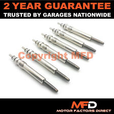6X FOR MERCEDES E-CLASS E300D TD 3.0 1995- DIESEL HEATER GLOW PLUGS FULL SET