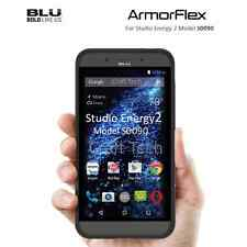 BLU Studio Energy 2 S0090 Armorflex Protective Case Phone Protector Fit - Black