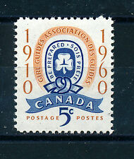 CANADA 1960 GOLDEN JUBILEE OF CANADIAN GIRL GUIDES MOVEMENT SG515 BLOCK OF 4 MNH