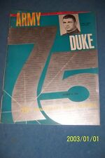 1964 ARMY CADETS vs DUKE BLUEDEVILS Football Program MICHIE STADIUM Coca Cola AD