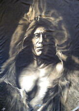 """INDIANER / INDIANS FLAGGE / FAHNE """"SITTING BULL"""" - POSTER FLAG"""