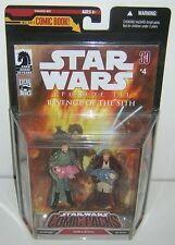 Star Wars 30th Anniversary TAC Comic Pack #4 Obi Wan Kenobi & Bail Organa
