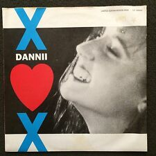 "DANNII MINOGUE - Love and Kisses 12"" Limited Edition Poster Pack Record - Kylie"