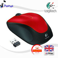 NUOVO LOGITECH M235 Wireless Mouse M235 Rosso UK STOCK