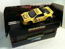 qq C 429 SCALEXTRIC UK FORD RS 200 RADIOPAGING No 4 (EXIN EXPORT TAMPOGRAFIADO)