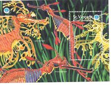 St. Vincent & The Grenadines - Fish, 1998 - Sc 2607 S/S MNH