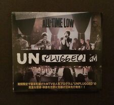 *JAPANESE EDITION* All Time Low MTV Unplugged CD DVD RARE Mayday Parade Maine
