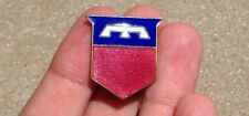Original WWII AAF Division Unit Insignia Crest Pin Patch 76th Infantry DUI