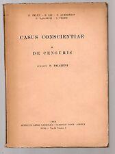 casus conscientiae - il de censuris - curante p.palazzini - 1956
