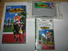 Winning Post 2 Super Famicom SFC SNES Japan import complete in box