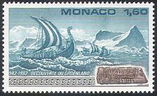 Monaco 1982 Boat/Sailing/Vikings/Transport 1v (n30690)