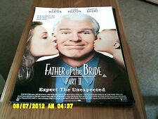 Father of the Bride 2 (steve martin) Movie Poster A2
