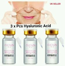 3 X Hyaluronic Acid,strong anti wrinkle serum 100% natural pure firming collagen