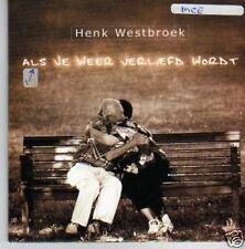 (488P) Henk Westbroek, Als Je Weer Verliefd Wordt - CD