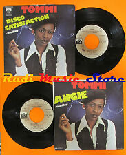 LP 45 7'' TOMMI Disco satisfaction Angie 1977 PRIVATE STOCK (*) cd mc dvd