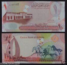 Bahrain Paper Money 1 Dinar 2007 UNC
