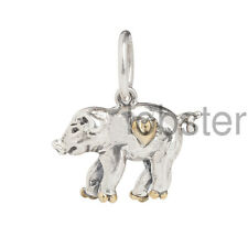 WAXING POETIC PIGLET LOVE CHARM PERSONAL VOCABULARY PIG Sterling Silver Brass