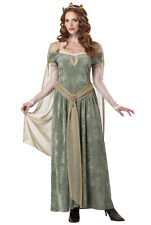 Brand New Medieval Renaissance Queen Guinevere Adult Halloween Costume