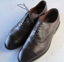 NEW ALLEN EDMONDS Park Avenue Sz 10 EEE Brown Mens Dress Shoes
