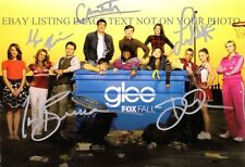 GLEE CAST SIGNED 6x9 RP PHOTO BY 5 LEA MICHELE CORY MONTEITH DIANNA AGRON +
