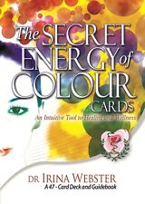 Healing Cards: The Secret Energy of Colour Cards. Dr Irina Webster, NEW