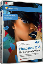 video2brain Photoshop CS6 für Fortgeschrittene, 8 Std. Video-Training DVD, NEU