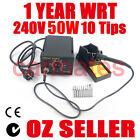 Yihua Soldering Iron Station 50W Lead Free 10 tips CE RoHS ESD Safe AU Stock 240