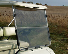 RecPro™ Yamaha G22 golf cart Clear Windshield with Folding Acrylic
