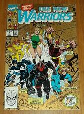 NEW WARRIORS #1 GOLD COVER VARIANT MARVEL SCARCE JULY 1990 X