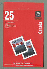 CANADA 1991 Booklet #110 - FLAG & MOUNTAINS  - 25 x 42c. - Complete - MNH