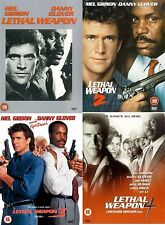 LETHAL WEAPON COMPLETE PART 1 2 3 4 Richard Donner, Mel Gibson NEW UK R2 DVD