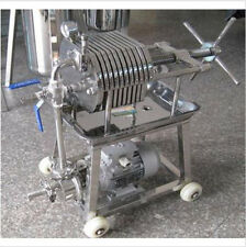 150Stainless Steel Filter Press Filter Machine Laboratory Filtration Equipment