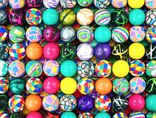 100 MIXED 27MM SUPERBALLS, HIGH BOUNCE VENDING BALLS, SUPER BOUNCY CARNIVAL BALL