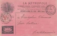 A6997) LA METROPOLE COMPAGNIA ANONIMA D'ASSICURAZIONI CONTRO L'INCENDIO.