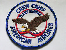 American Airlines Crew Chief Fleet Service Aircraft Patch (#3082)
