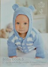 KNITTING PATTERN BOOK Baby Book 5 King Cole KNITTING PATTERN BOOK