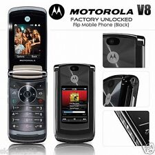 Motorola MOTO RAZR2 V8  Edition (Unlocked) Flip Mobile Phone BLACK