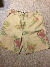 MENS TOMMY Rare HILFIGER RED LABEL DENIM Floral Hawaiian SHORTS MEN'S SIZE 38